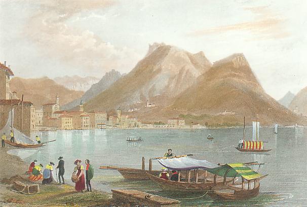 Litografie Ticino com'era