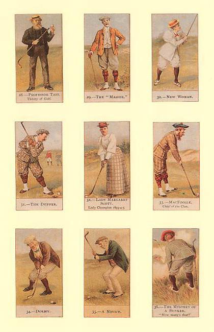 Litografie Golf