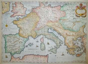 Impero di Carlo Magno 1612 ca.