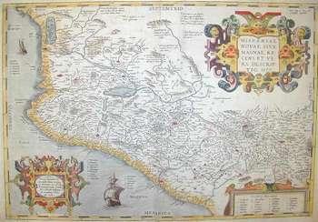 Nuova Spagna (Messico) 1579