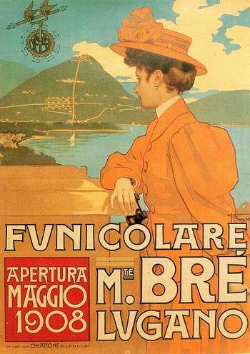 Funicolare Monte Bré 1908