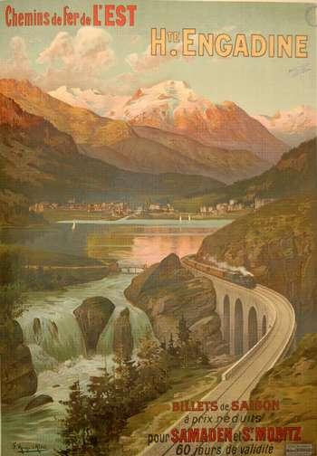 Chemin de fer de l'est H.te Engadine
