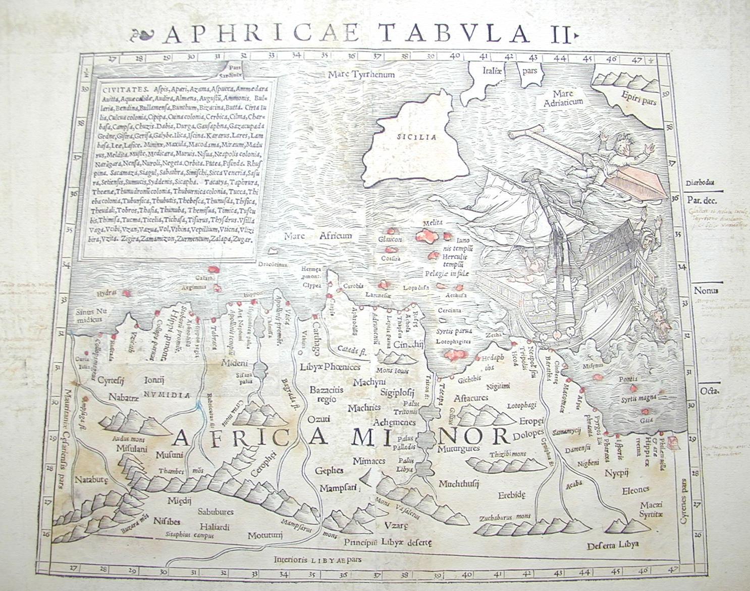 Africa Minor 1540