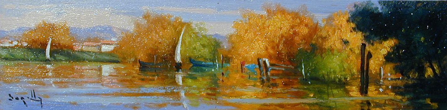 Autunno lungo l'Arno