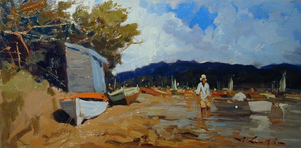 Barche in secca