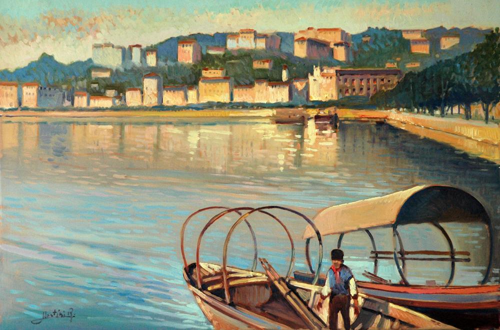Lugano dal lago