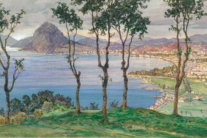 Lago di Lugano da Ruvigliana