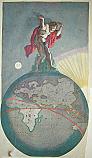 Atlante che sorregge l'universo 1640 ca.