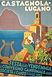 Castagnola-Lugano Festa della vendemmia 1932