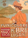 Funicolare Monte Brè Lugano 1908