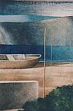 Il lago, la barca, il monte