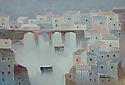 Case con ponte sull'Arno